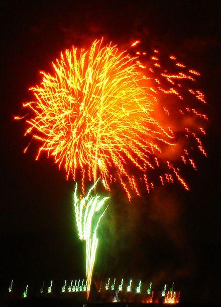 2008 市原市・高滝ダム花火大会の写真